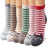 Ambielly 女性 靴下 パターン化された 新規性 コットン 靴下 動物 ソックス 21-25cm