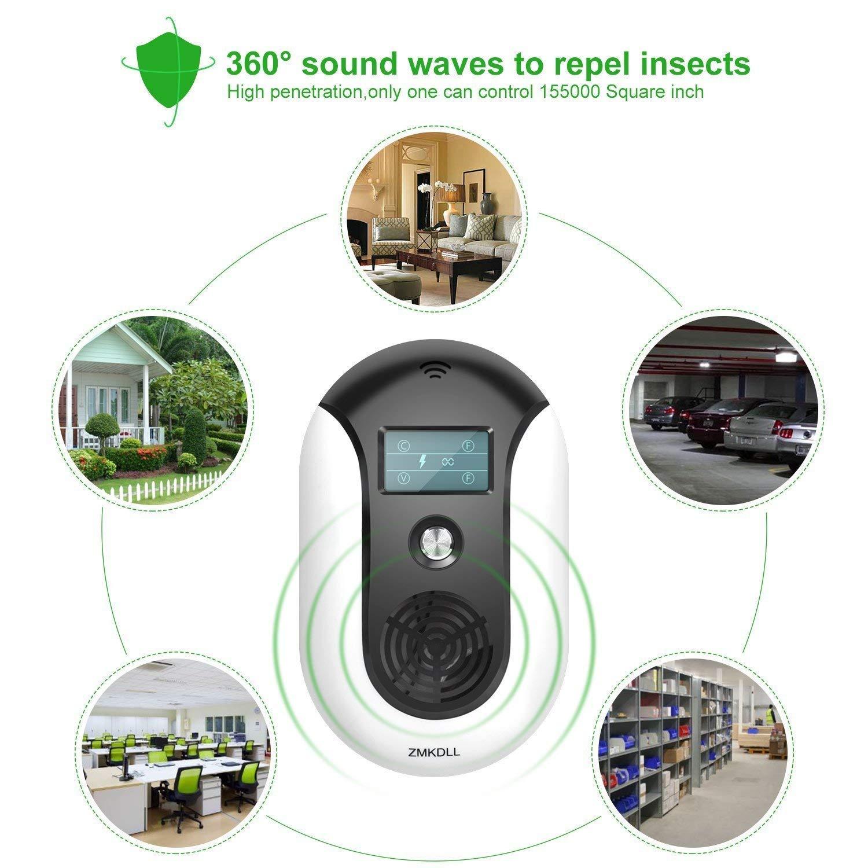 Repelente De Plagas Ultrasónico, Repelente Para Perros, Nuevo Repelente Electrónico De Insectos Control De Plagas En El Interior Deshazte De Mosquitos, ...