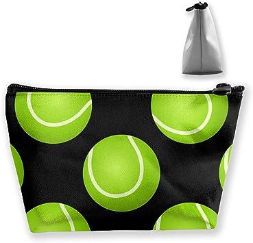 Bolsa de Maquillaje con diseño de Pelota de Tenis: Amazon.es: Equipaje