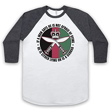 Gurkha Regiment Sam Manekshaw Army Quote 3/4 Hulse Retro Baseball T-Shirt:  Amazon.de: Bekleidung