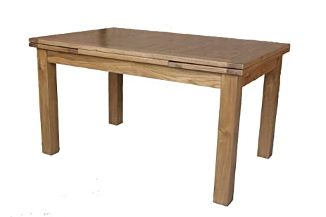 Portland Extendable Rectangle Table   2200 (Natural Oak)