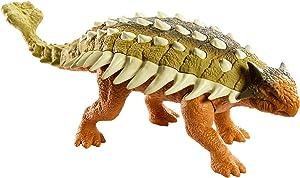 Roaring Battle Action with Jurassic World Roarivores Ankylosaurus Dinosaur Action Figures