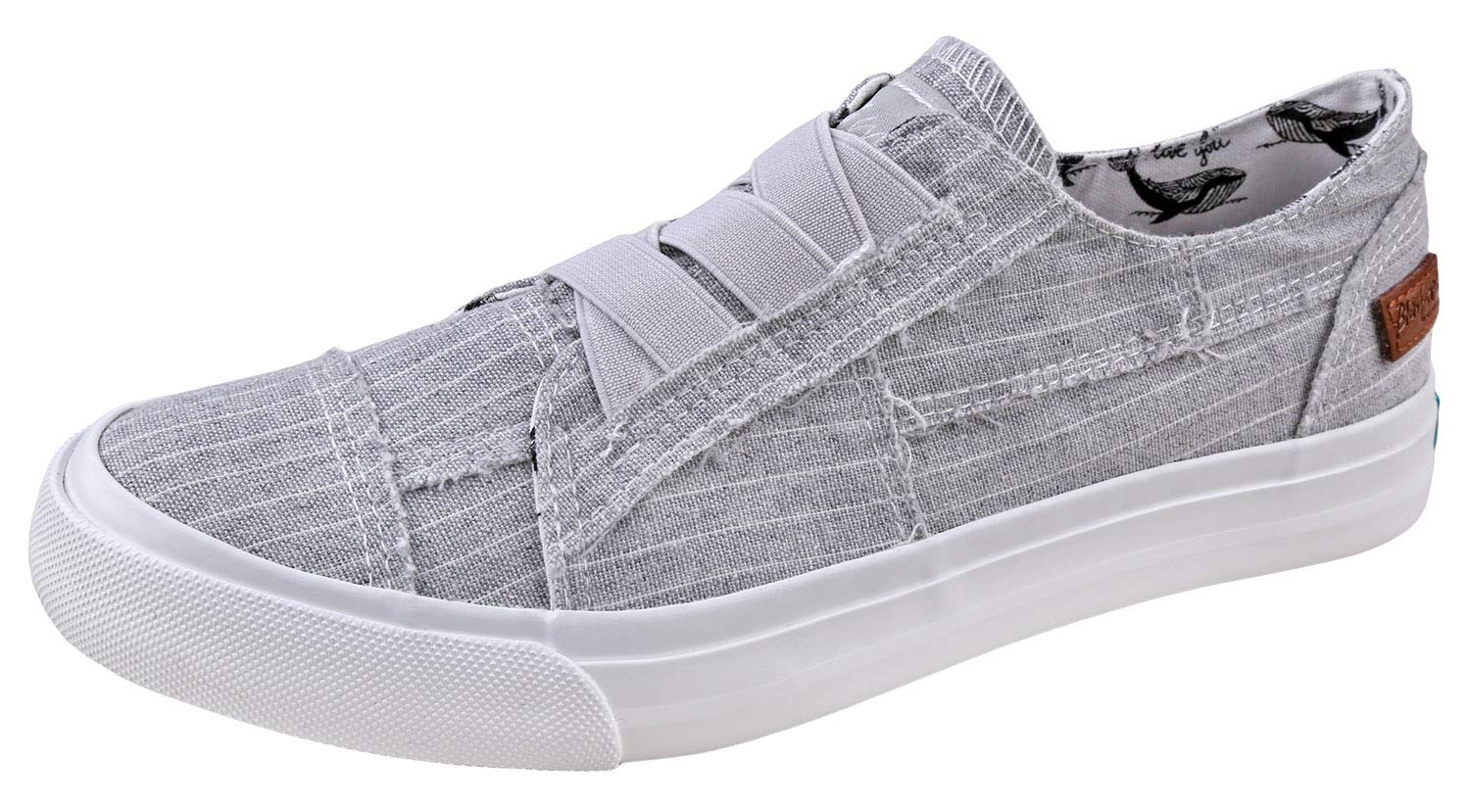 Blowfish Womens Marley Casul Shoes Marley-GRYHAMMGrey Hammock Stripe 8.5 by Blowfish Malibu