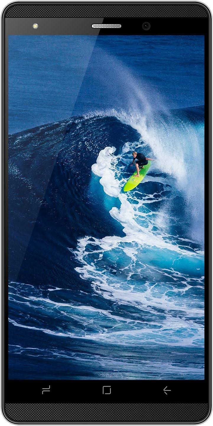 Telephone Portable Debloqu/é,4G 5.1 Pouces Android 9,0 16 Go de ROM 2800mAh Batterie 5MP Appareil Photo Dual Sim Smartphone Pas Cher DUODUOGO J3