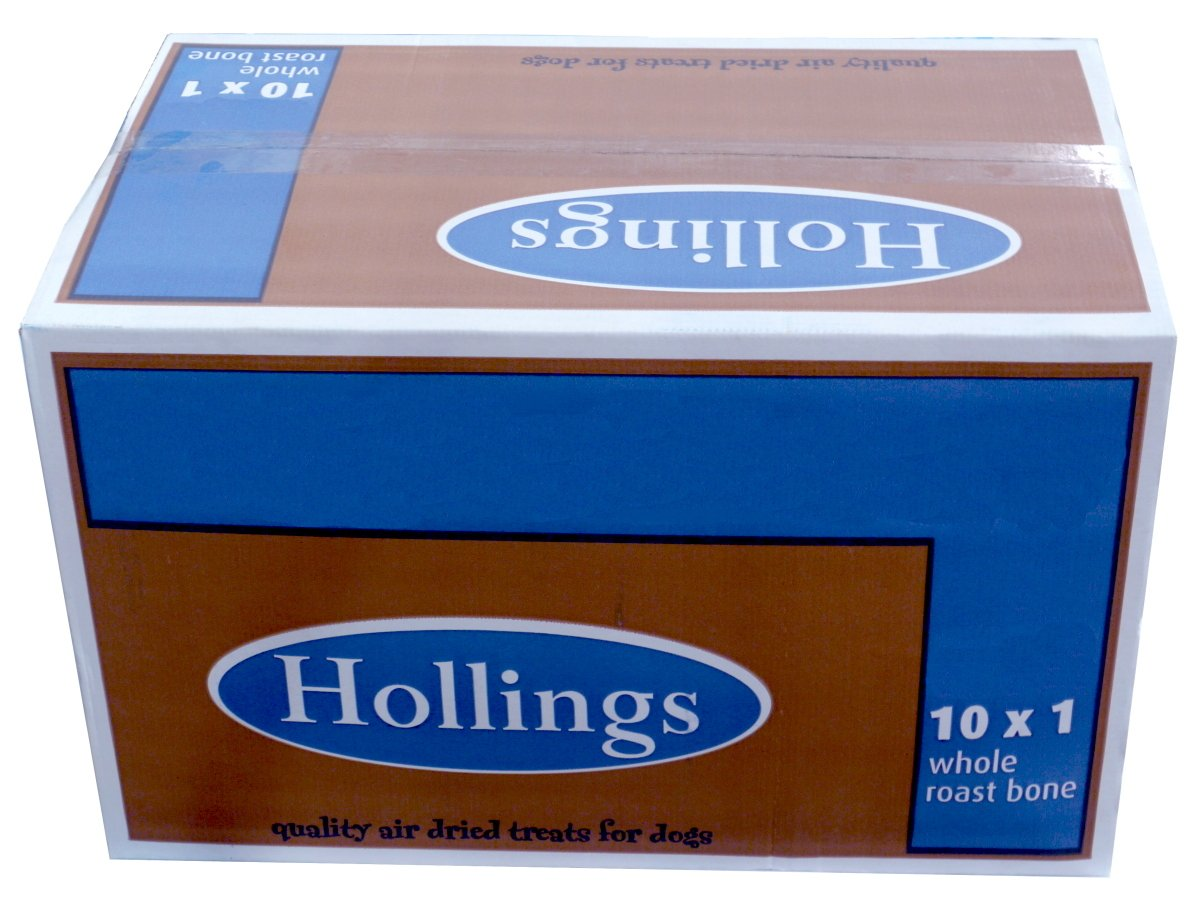 Hollings Natural Dog Treat Roast Full Bulk x 10