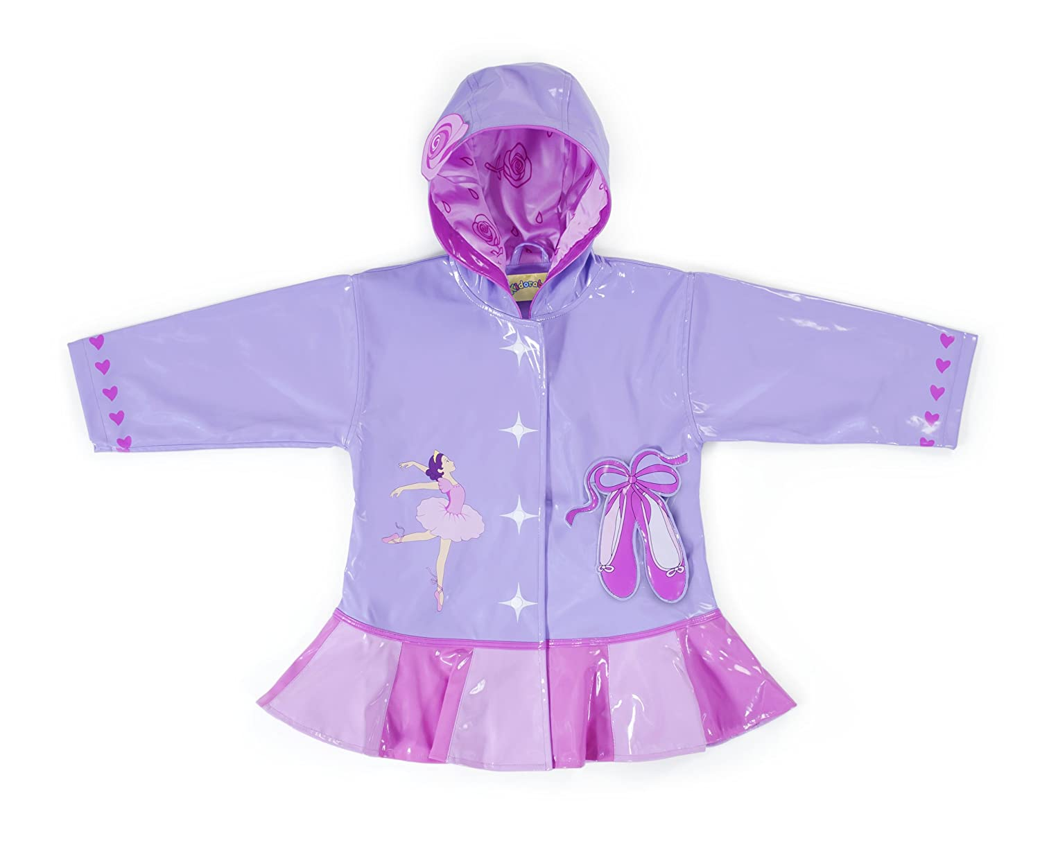KIDORABLE girls Little Girls Ballerina Jacket 396020