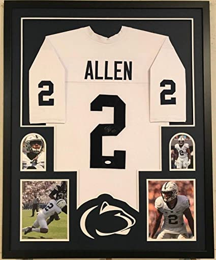 sports shoes cb3f0 c681e FRAMED MARCUS ALLEN AUTOGRAPHED SIGNED PENN STATE JERSEY JSA ...
