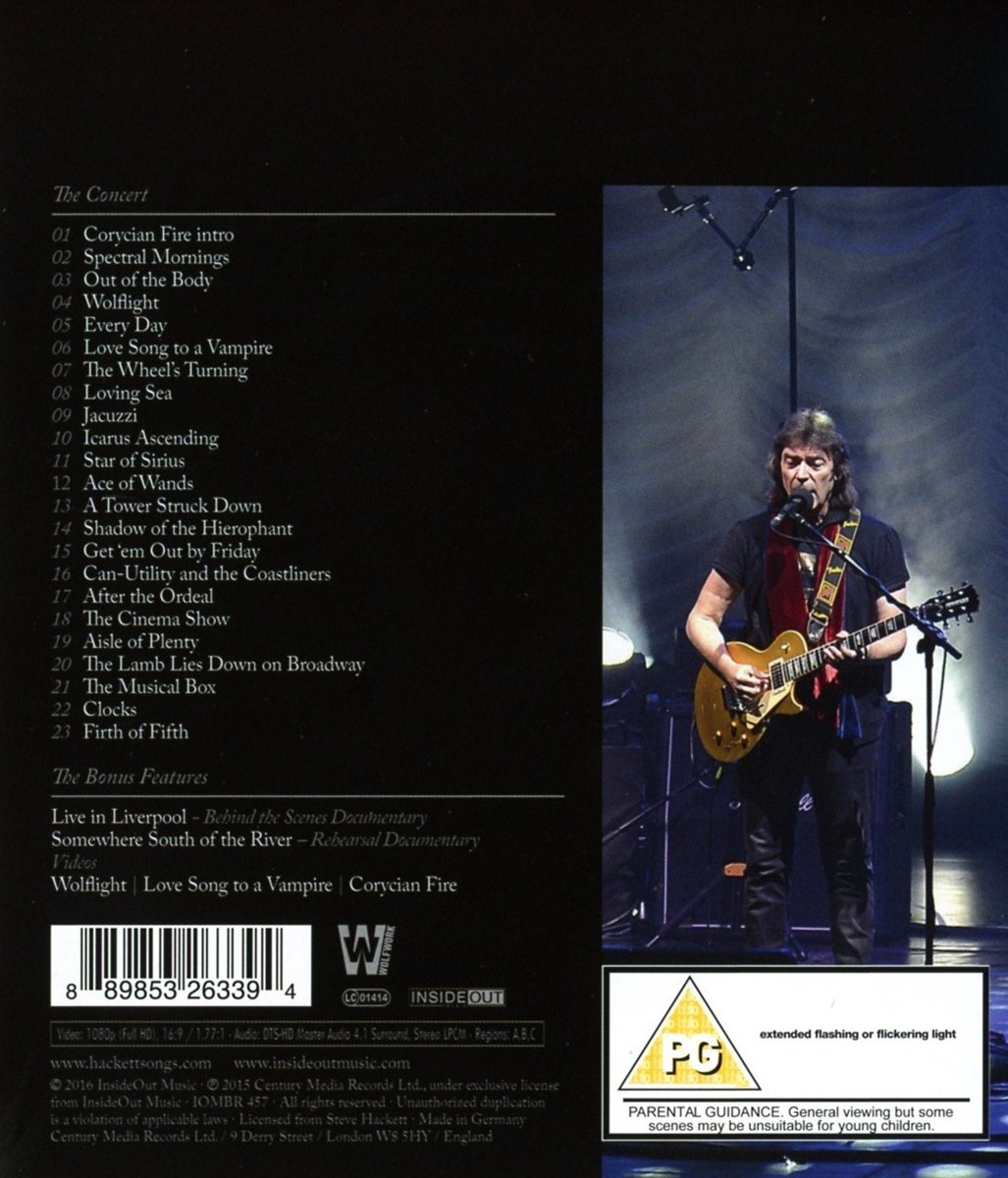 The Total Experience Live In Liverpool [Blu-ray]: Amazon.de: Steve ...