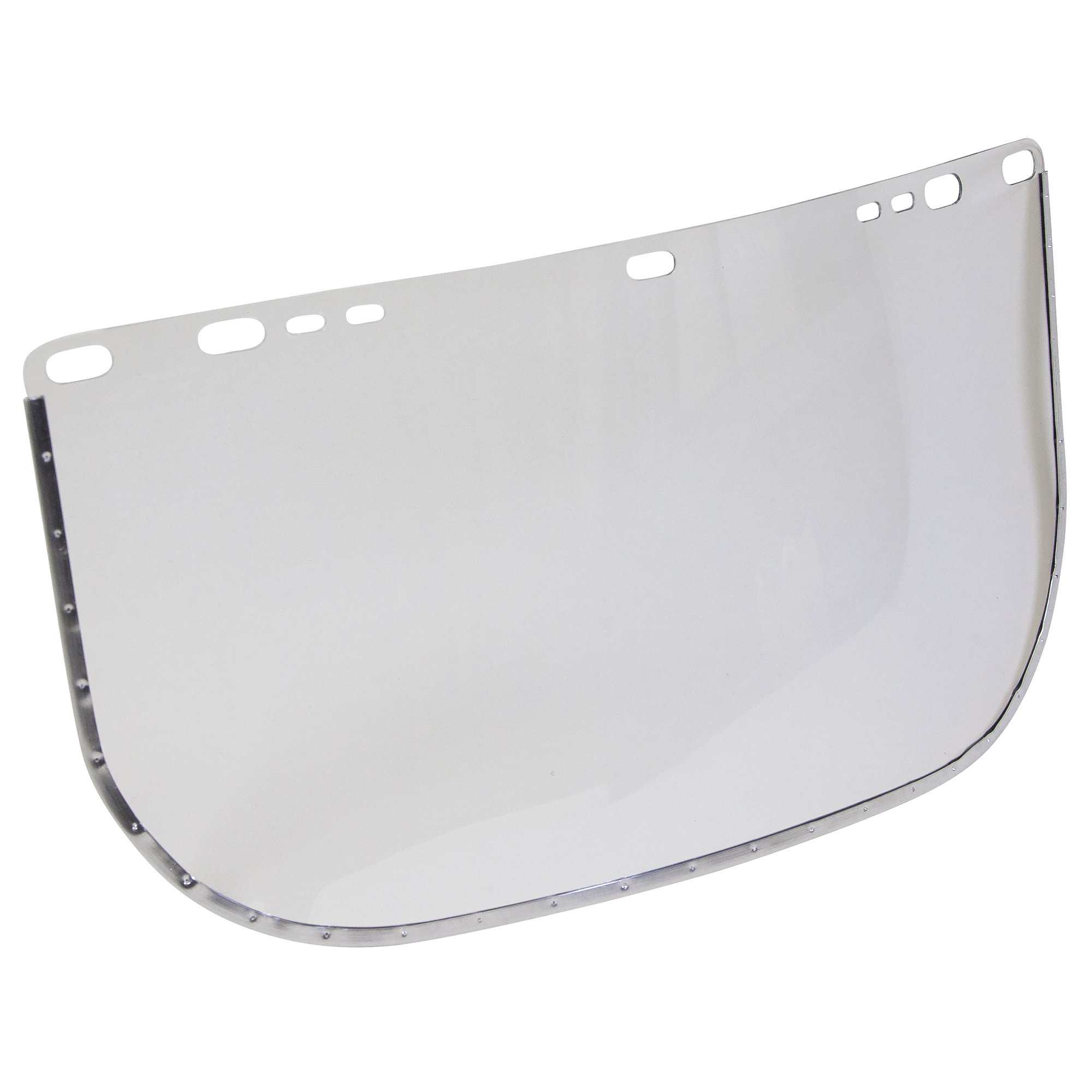 """Jackson Safety F30 Acetate Face Shield (29052), 8"""" x 15.5"""" Clear, Reusable Face Protection, 24 Shields/Case"""