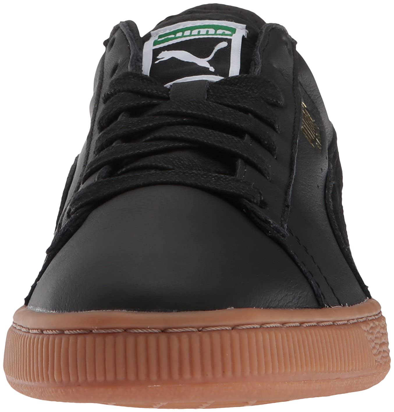 Amazon.com | PUMA Mens Basket Classic Gum Deluxe Sneaker | Fashion Sneakers