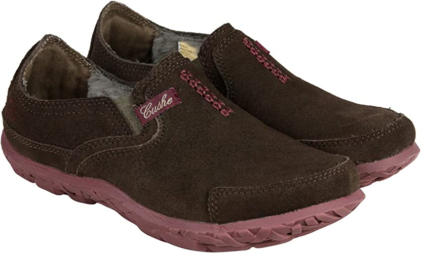 Cushe Womens Slipper Brown Suede Thermo