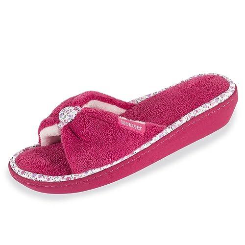 Isotoner Zapatillas Sandalias con Tacón Para Mujer 38: Amazon.es: Zapatos y complementos