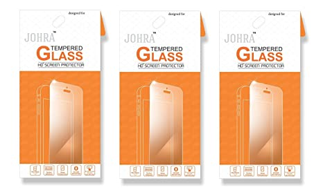 Reliance Jio LYF Water 10 Tempered Glass, Real HD+Tempered Glass for LYF Water 10 Tempered Glass   Pack of 3