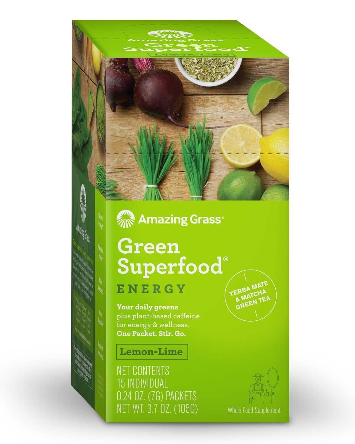 Amazing Grass Superfood bayas verdes: Amazon.com: Grocery ...