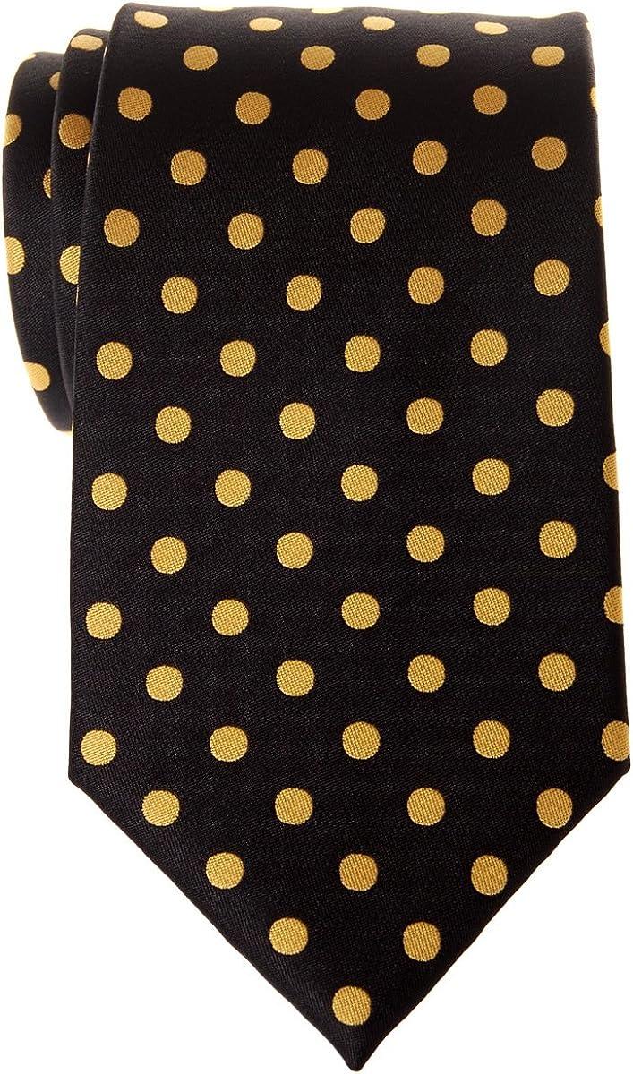Retreez - Corbata de microfibra para hombre, diseño de lunares ...