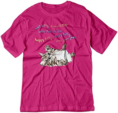 83fd2aab8 Image Unavailable. Image not available for. Color: BSW Youth Soft Kitty  Sheldon Cooper Big Bang Theory Song Shirt ...