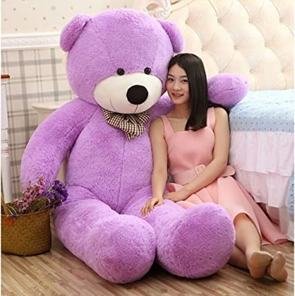 Buttercup Soft Toys Medium Very Soft Lovable/Huggable Teddy Bear for Girlfriend/Birthday Gift/Boy/Girl - 3 Feet (91 cm, Purple)