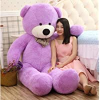 Buttercup Soft Toys X-Large Very Soft Lovable/Huggable Teddy Bear for Girlfriend/Birthday Gift/Boy/Girl - 5 Feet (152 cm, Purple)