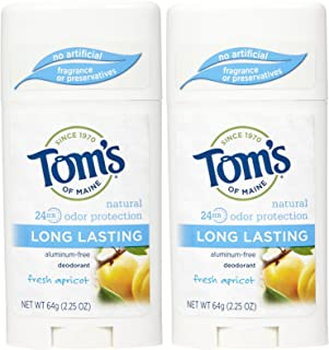 product image for Tom's of Maine Long-Lasting Care Deodorant Stick, Apricot - 2.25 oz - 2 pk