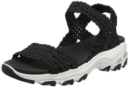 Sandali neri per donna Skechers D'Lites 6BnYdoDOd