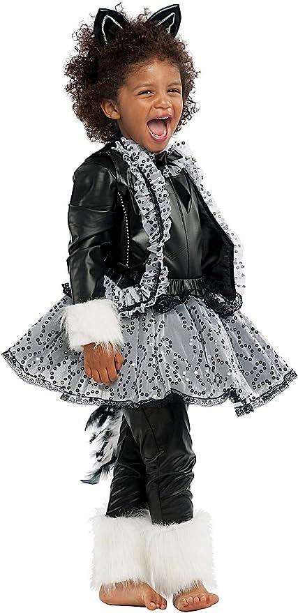 Costume di Carnevale da GATTA Nera Lusso Vestito per Ragazza Bambina 7-10  Anni Travestimento da0c63c95b2