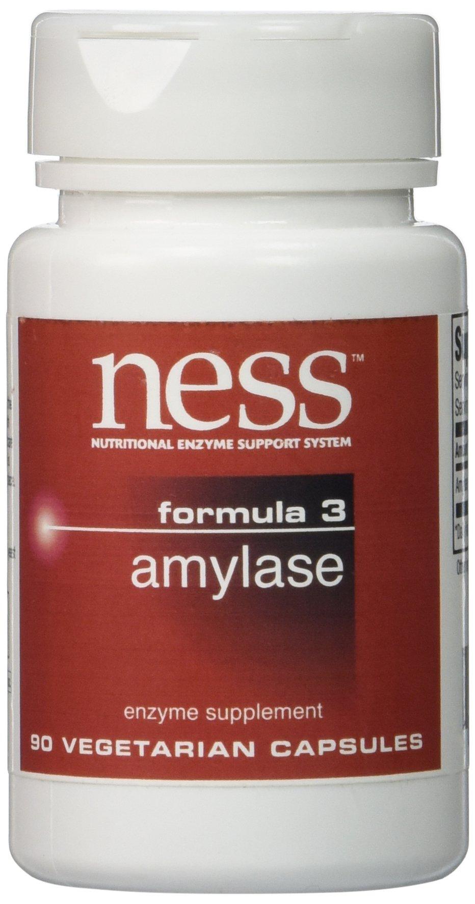 NESS Enzymes - Amylase #3 90 VegiCaps