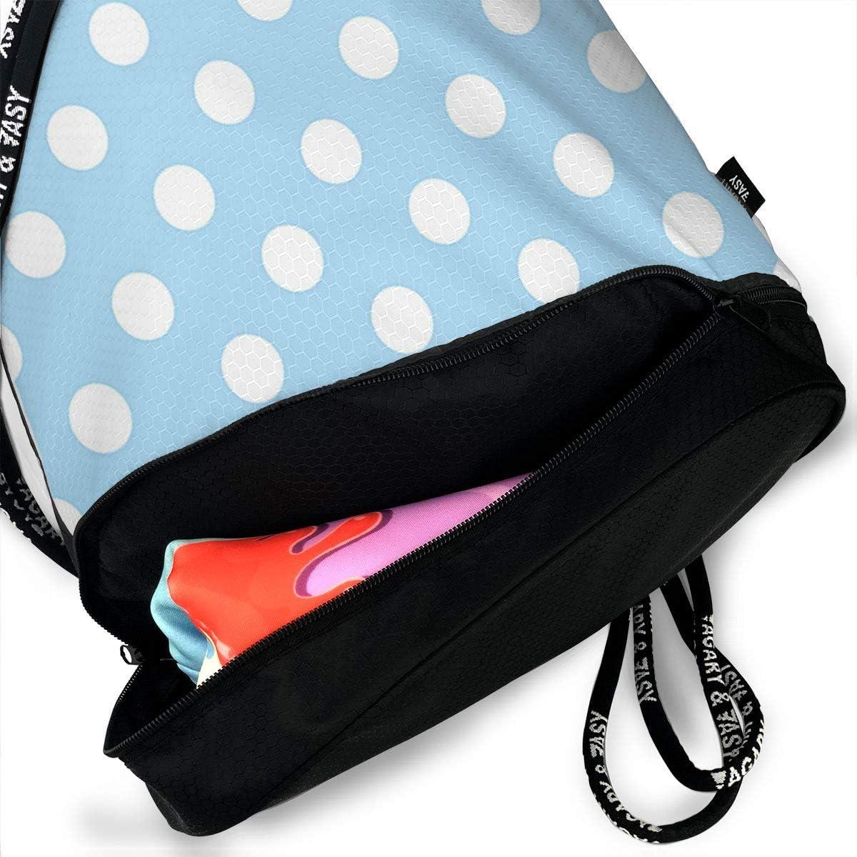 HUOPR5Q Birds-and-Animals Drawstring Backpack Sport Gym Sack Shoulder Bulk Bag Dance Bag for School Travel