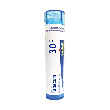 Boiron Tabacum 30C, 80 Pellets, Homeopathic Medicine for Motion Sickness