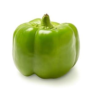 Green Bell Pepper, One Medium