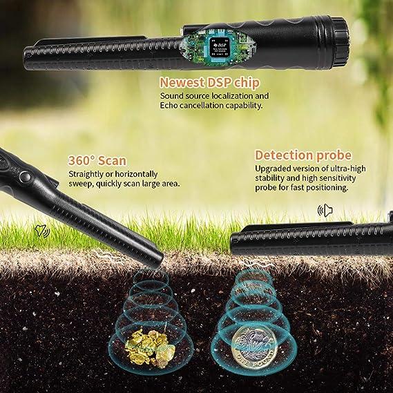 Support Pin Pointer Metalldetektor 3M Wasserdichte Metalldetektoren
