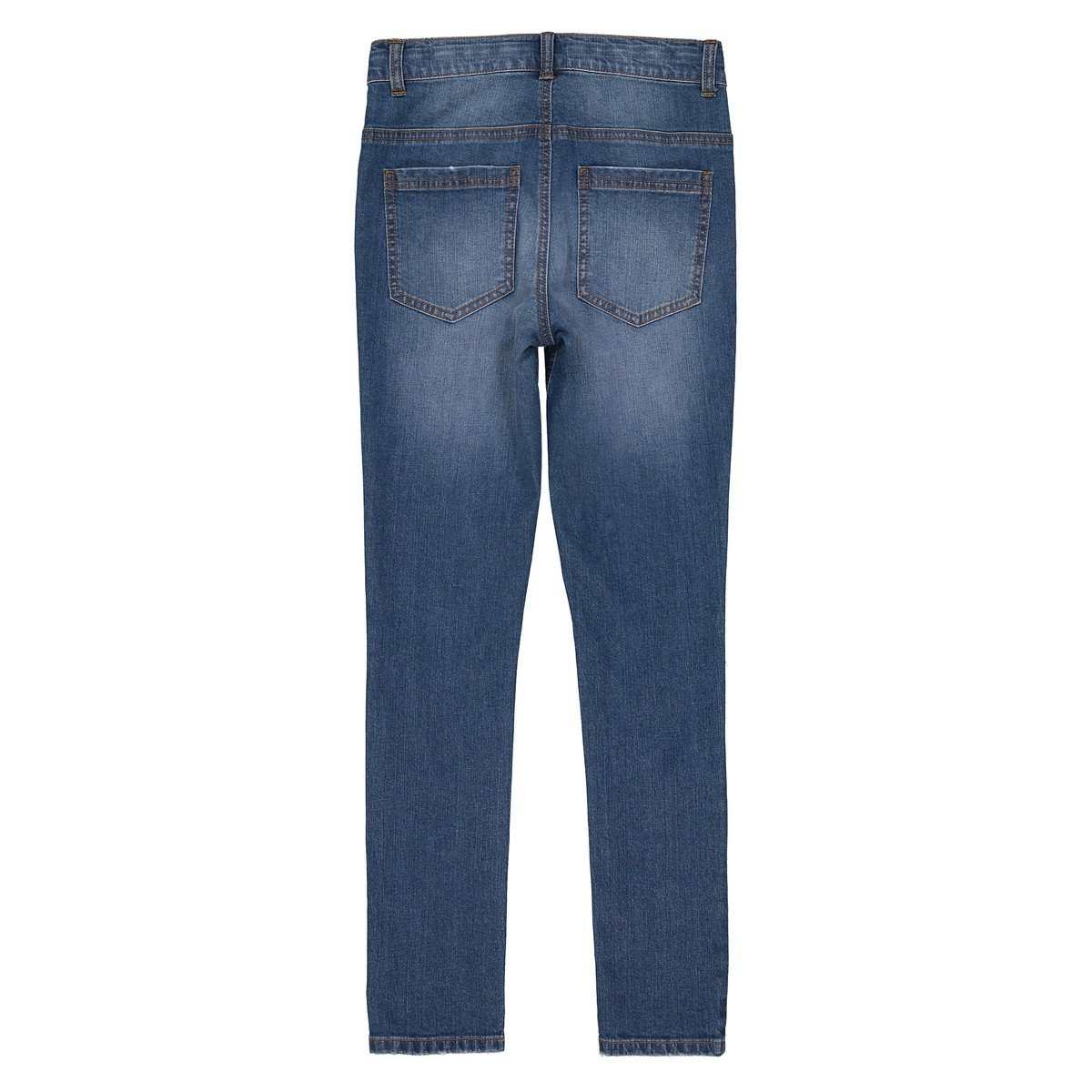 10-16 Years La Redoute Collections Big Boys Ripped Knee Skinny Jeans