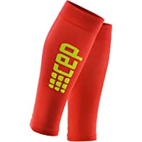 CEP WS55MD2 Ultralight Compression Calf Sleeves, Red/Green, Size III