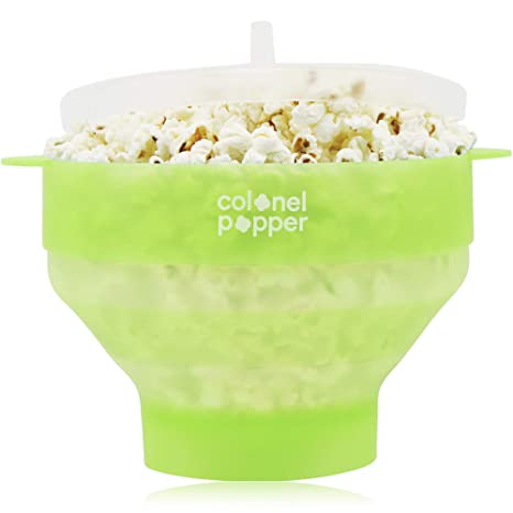 Amazon.com: Coronel Popper Microondas Popcorn Maker ...