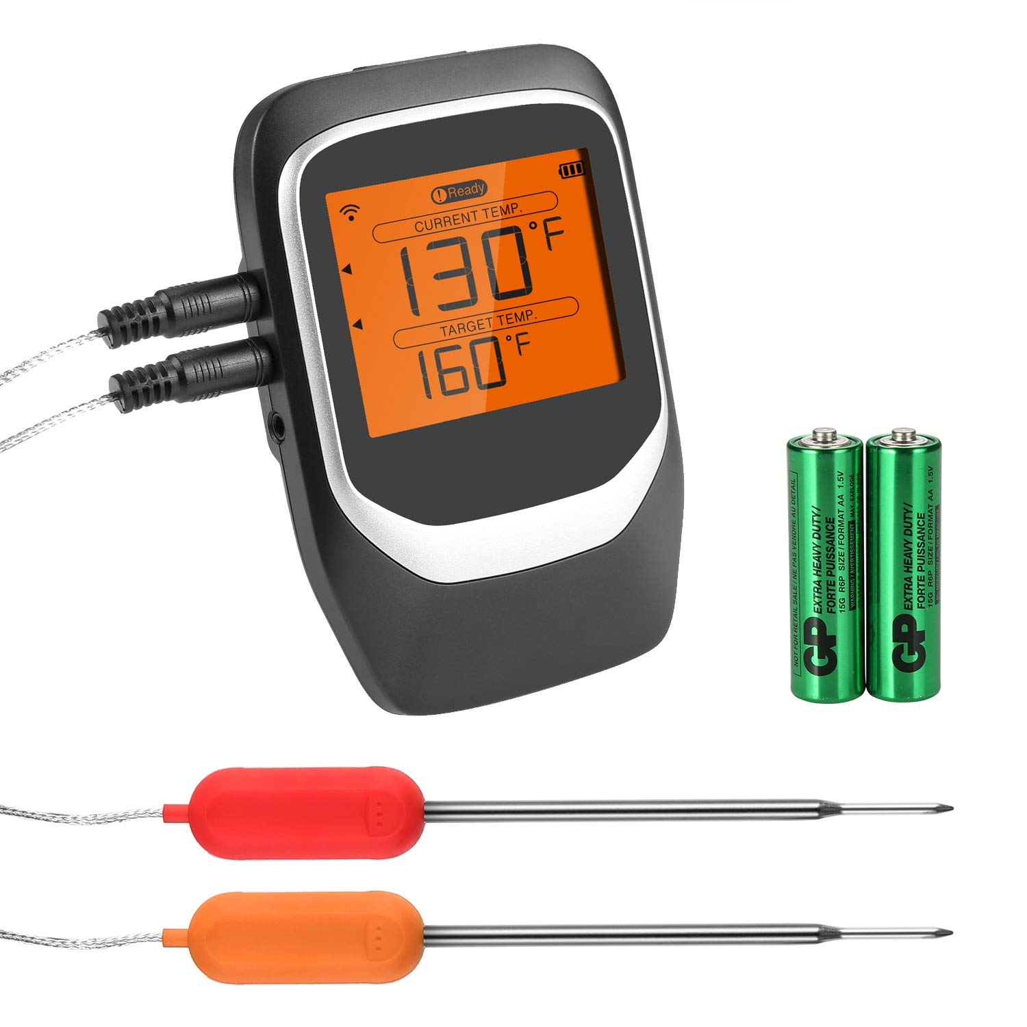 COMLIFE Stainless Steel Probe Replacement for Digital Meat Thermometer FDA Approved 2 Packs