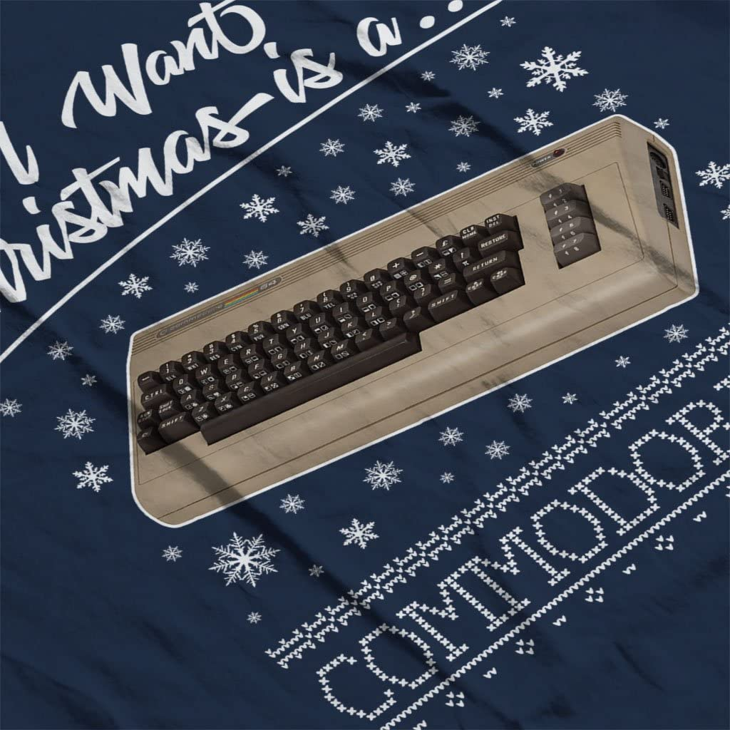 All I Want for Christmas is A Commodore 64 Kids Sweatshirt