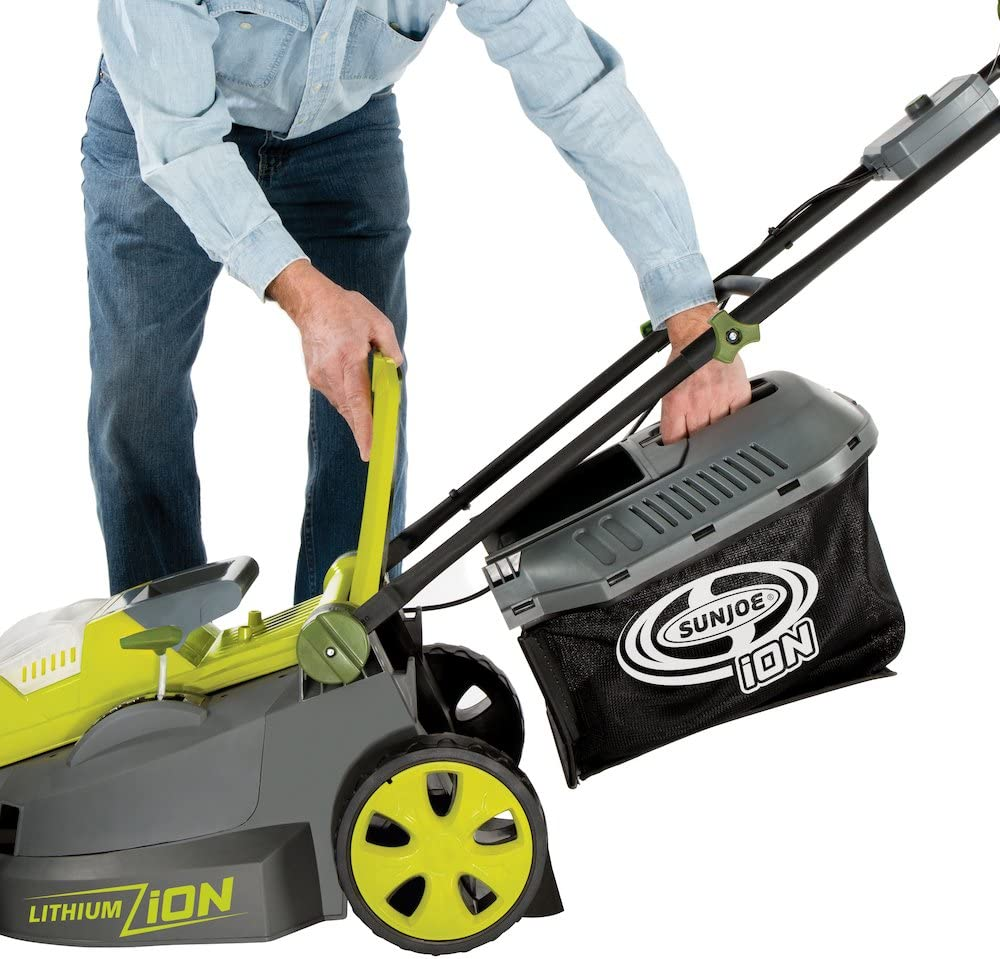 Sun Joe iON16LM Brushless Cordless Lawn Mower
