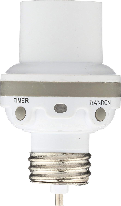 WESTEK SLC6CBC-4 100W Programmable Screw-In Light Control, White (1 Pack)