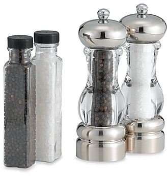 Olde Thompson Pepper Mill and Salt Mill Set in Del Norte - BedBathandBeyon​d.com