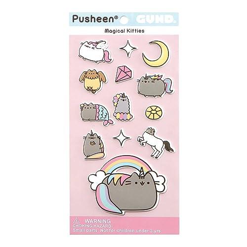 Enesco-Chat Pusheen Sticker Magique, 4060831