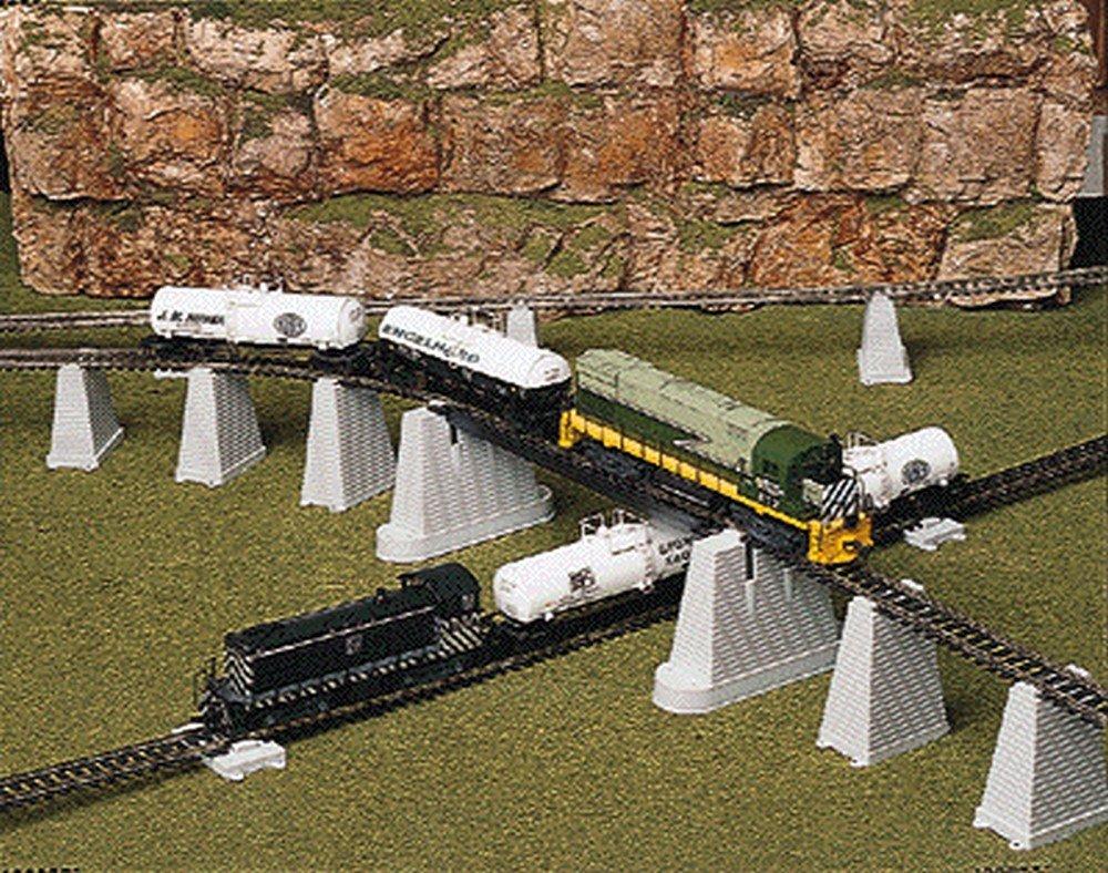 Pier Set 47pc Ho Scale Atlas Trains Toys Games Model Railroad Incline Railway Control Circuit