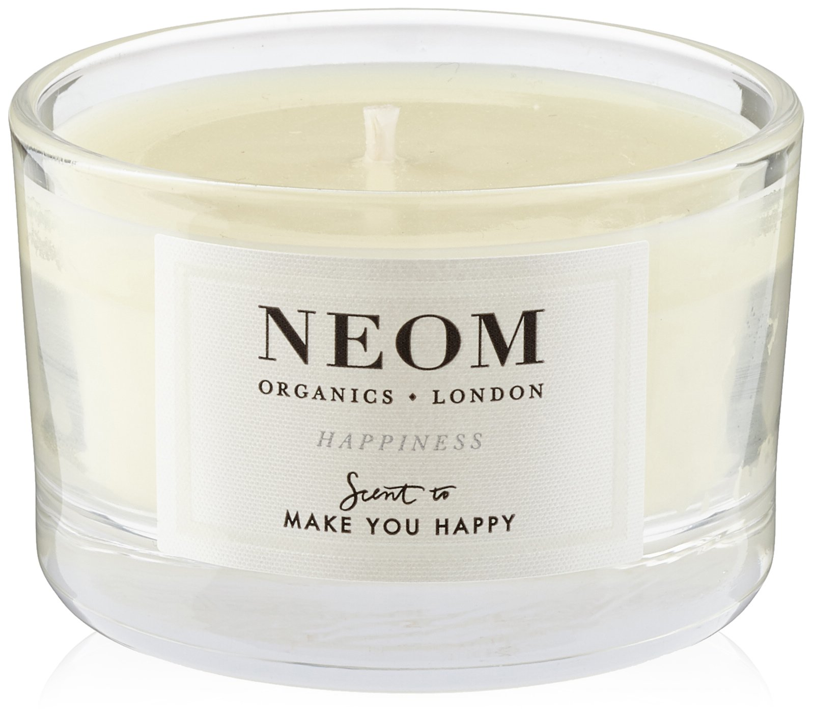 NEOM – Happiness Scented Candle, Travel (2.6 oz) – Uplifting Scent