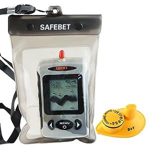 Lucky FFW-718 Wireless Portable Sonar Fish Finder