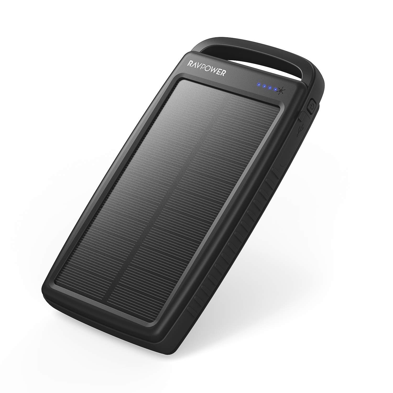 RAVPower Cargador Solar 20000 mAh, Cargador portátil ...