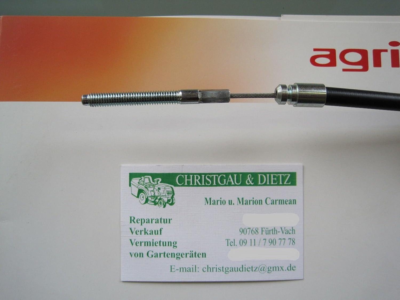 Seilzug Kupplung 2//1060//145 69155 Agria 5300 Einachser Balkenmäher Ersatzteile
