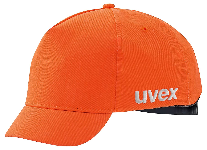 Uvex U-Cap Sport Hi-Viz Ansto/ßkappe 60-63 cm 60-63 cm Kurzer Schirm Warnorange