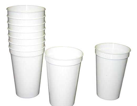 12 vasos de plástico para beber de 20 oz, 12 unidades, multicolor ...