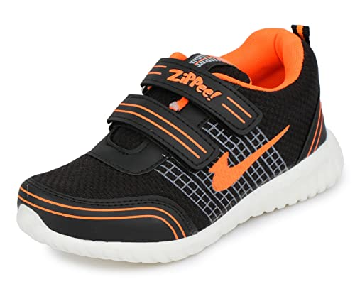 b6d72a90878 TRASE Zippee-HY Sports Shoes for Boys-Girls (for Age  2-12 Years)  Buy  Online at Low Prices in India - Amazon.in