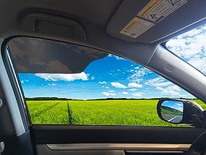 Amazon Com Clingvisor Car Sun Shade Cling Sunshade 2 Pack Automotive