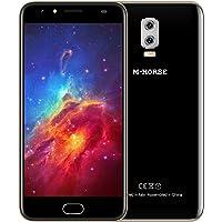Smartphone ohne Vertrag M-horse Power 2 Dual Sim Smartphone(5.5 Zoll HD Display, 2GB Ram, 16GB Speicher, Dual kamera(8MP + 2MP), Android 7.0 MTK6737 Quad Core 1,3GHz, Handy mit Fingerabdrucksensor)
