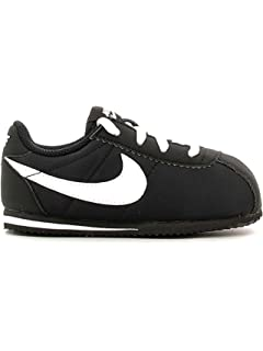 new style 0808a 5eae0 Nike Cortez Nylon Bébé Noire Noir 27
